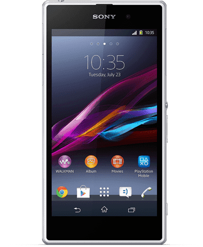 Замена стекла камеры Sony  Xperia Z1 Compact